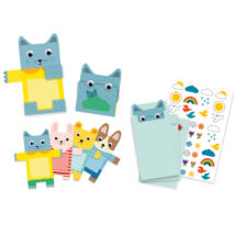Partijáték - Meghívókártyák - Cuddly toys invitation cards- DJECO