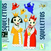 Kártyajáték - Elemes elemző - Squelettos - DJECO