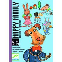 Kártyajáték - Boldog család - Happy family- DJECO