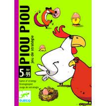 Kártyajáték - Csip-csip - Piou Piou - DJECO