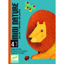 Kártyajáték - Egy kis természtrajz - Mini Nature - DJECO