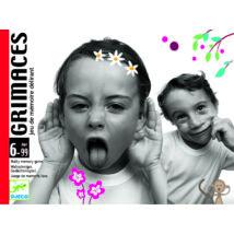 Kártyajáték  - Most grimaszolj! - Grimaces- DJECO