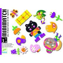 Kártyajáték - Memória - Minimatch - DJECO