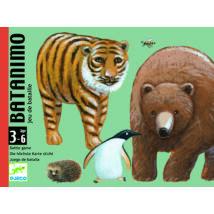Kártyajáték  - Kisebb-nagyobb - Batanimo- DJECO
