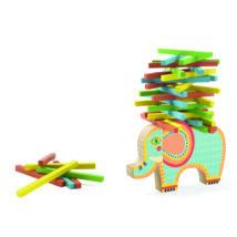 Társasjáték klasszikus - Egyensúlyozó elefánt - Balancing game- DJECO