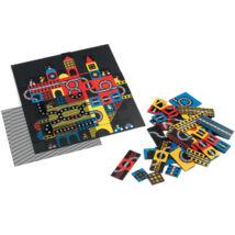 Optikai puzzle - Város, 123 db-os - Kinoptik Ville- DJECO
