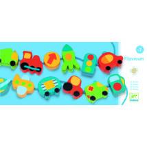 Fűzős játék - Közlekedés fűzőcske - Filavroum- DJECO