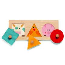 Formaillesztő, formaberakó - színek és formák - FormaBasic- DJECO