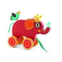 Húzható játék - Indy a türelmes elefánt - Indy- DJECO