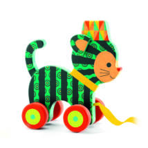 Húzható játék - Neko a bájos kiscica - Neko- DJECO