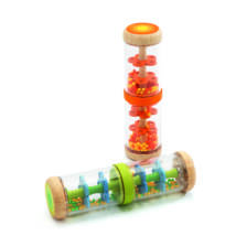 Bébicsörgő - Narancs esőbot - Orange rain shaker- DJECO