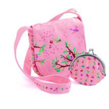 Kistáska pénztárcával - Nyári kert - Summer garden bag and purse- DJECO