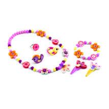 Ékszerkészlet - Erdei virágok - Wood flower jewellery- DJECO