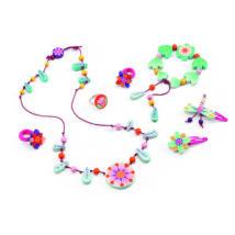 Ékszerkészlet - Csodálatos virágok - Flower paradise jewels- DJECO