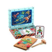 Kalapálós játék - Űrhajók - Space tap tap- DJECO