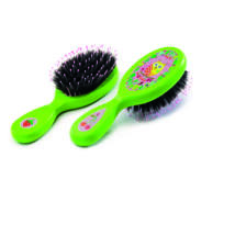 Hajkefe - Baglyos - Hairbrushes Owl and  fruits- DJECO
