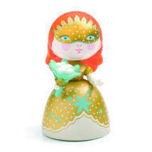 Hercegnő virággal - Barbara- DJECO