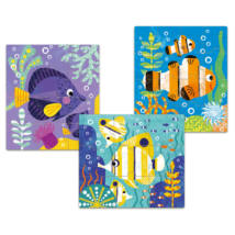 Puzzle Primo - Halak, 9, 12, 16 db-os - Fishes- DJECO