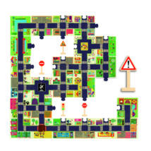 Óriás puzzle - A város - The city- DJECO