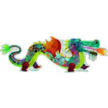Óriás puzzle - Leon a sárkány  - Leon the dragon- DJECO