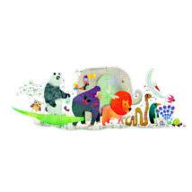 Óriás puzzle - Állati parádé - Animal Parade- DJECO