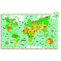 Megfigyeltető puzzle - Lenyűgöző világ 200 db-os- DJECO