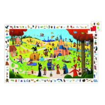 Megfigyeltető puzzle - Mesék, 54 db-os - Tales- DJECO