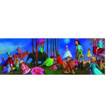 Művész puzzle - Csodállatos séta, 350 db-os - Promenade merveilleuse- DJECO