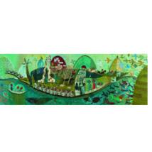 Művész puzzle - Költői hajó, 350 db-os - Poetic boat- DJECO