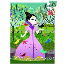 Mini puzzle - Elvira, 60 db-os- DJECO