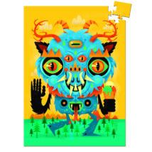 Mini puzzle - A szörnyeteg, 60 db-os - The Monster- DJECO
