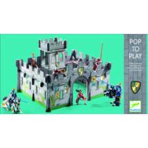 Építőjáték - Középkori vár 3D - Medieval castle 3D- DJECO