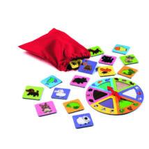 Társasjáték - Tapintgató - Tactilo lotto, animals- DJECO