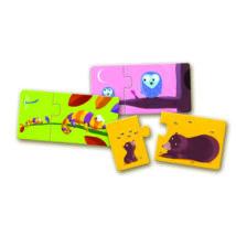 Párosító puzzle - Mama-baba - Mom and baby- DJECO