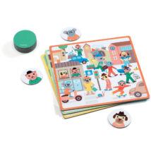 Fejlesztő játék - Pontosan az! - Eduludo Tocto loto- DJECO