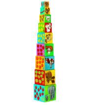 Toronyépítő kocka - Barátok - 10 my friends blocks- DJECO