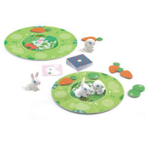 Társasjáték - Nyuszi ül a fűben - Little collect- DJECO