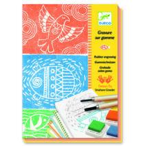 Művészeti műhely - Nyomdázó készítés - Rubber engraving- DJECO