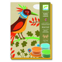 Homokkép készítő - Az édenkert madarai - Birds of paradise- DJECO