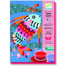 Homokkép készítő - Szivárványos halak - Fish rainbows- DJECO