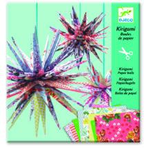 Kirigami - Papírgömbök -Kirigami paper balls- DJECO