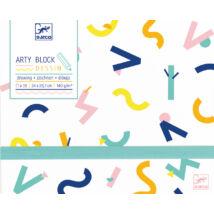 Arty block - Drawing paper- DJECO