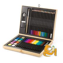Kreatív készlet - Festő és rajz készlet - Color box- DJECO