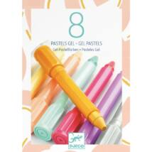 8 gel pastels - sweet colours- DJECO