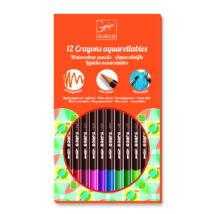 Akvarellceruza - Kettő az egyben - Watercolour crayons - DJECO