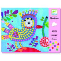 Mozaikkép készítés - Madár és katica - Bird and ladybird- DJECO