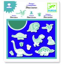 Nyomdakészlet - Dinoszauruszok - Dinosaurs- DJECO