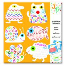 Rajzműhely - Állatok - Graphism Animals- DJECO