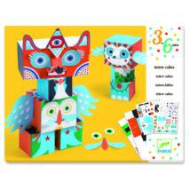Papírszobor műhely - Vidám állatok - Funny animals- DJECO