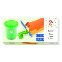 Gyurmaformázó készlet - 1 press- DJECO